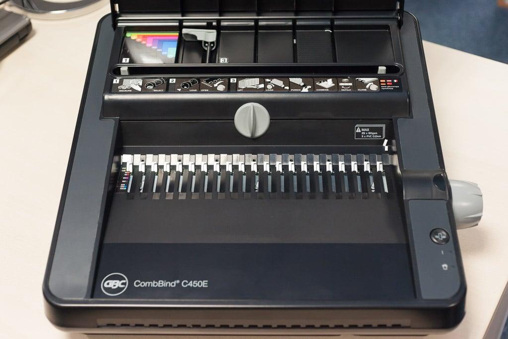 CombBind C450E